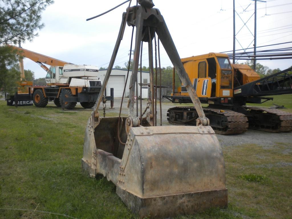 Clamshell Crane Buckets